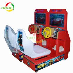 Kiddle Racing Machine de jeu vidéo de divertissement pour la zone de jeu de voiture