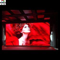 P6 Construction de l'étape de la publicité TV écran LED du panneau arrière-plan