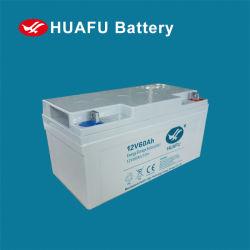 Huafu cycle profond Batterie au gel de plomb-acide 12V 10hr 60Ah pour le stockage d'énergie de la grille intelligente