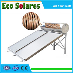 Separar a Água Pressurizada aquecimento solar aquecedor solar de água com tubo de calor