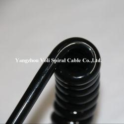 Настроенные на заводе Спиральный кабель питания Спиральный кабель питания