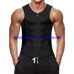 El neopreno de sudor caliente adelgazamiento Body Shaper para el hombre Sport Gym Fitness ejercicio