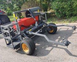 タイプAgricultrialおよび庭によって使用される芝地のカッターの芝刈機または動力工具の乗車