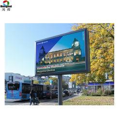 Directa de Fábrica de P8 HD LED de señal de vídeo en el exterior de la pared de vídeo de publicidad