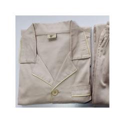 Companhia Aérea unissexo Sleepwear Algodão Companhia Aérea Sleepwear Overnight Pernoite Prensa