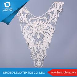 Alta qualidade de algodão suíço Colar de voil Lace com design de moda