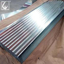 SGCC Gi tôle en acier galvanisé de tôle en acier ondulé Matériaux de construction