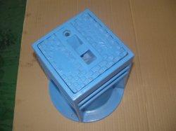 Conducto de la caja de la superficie del hierro