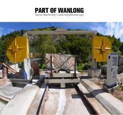 Sierra de hilo de Diamante la nueva máquina de corte de piedra de mármol y granito