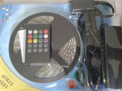 IR ControllerおよびPower Supply LED Strip SetのSMD5050 5meter
