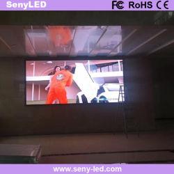 En el interior Fix LED display a todo color de pared LED pantalla de vídeo