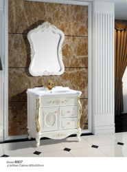 Пол роскошной ванной комнате из ПВХ (9507)
