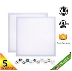 Luz de LED de ecrã plano 600x600 48W Square 300x300 18W painel LED 300x600 24W na luz de tecto LED 4800lm 600X1200 Iluminação Interior AC85-265V RoHS da CE