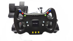 PC/PS2/PS3-Game Accessory (SP8062)のためのワイヤーで縛られたSteering Wheel