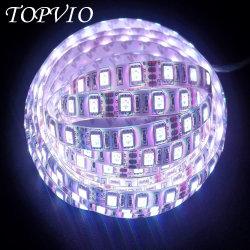 IP20/IP65/IP67/IP68 гибкие светодиодные полосы света SMD5050 фиолетового цвета