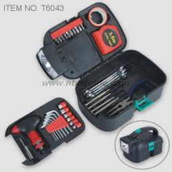 34 pcs outil réglé avec une lampe de poche (T6043)