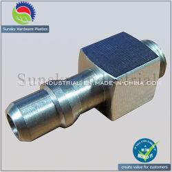 Giuntura di alluminio di giro del connettore del tubo flessibile delle parti di CNC (TU15012)