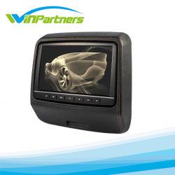 9 polegada abraçadeira no Monitor de Cabeça/leitor de DVD com jogos Entrada HDMI