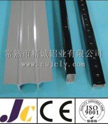 Het zwart-witte Poeder Met een laag bedekte Profiel van de Uitdrijving van het Aluminium (jc-w-10018)