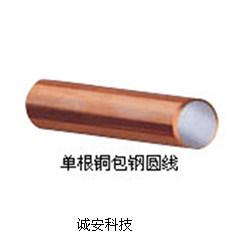 Filo di acciaio placcato di rame in scatola flessibile del rame placcato dello stagno del collegare di rame dello stagno dell'involucro