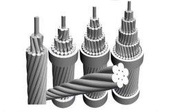 كبل AAC/ACSR عالي الفولتية إلى IEC61089، BS215، ASTM B232، CSA C49، DIN48204، JIS C3110 قياسي