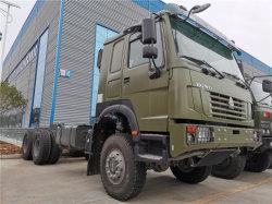 HOWO 6X6 off road vehículo vehículo militar