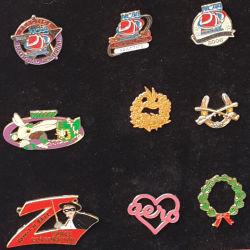 Kundenspezifischer Pin/Taste Sports Medaillen-Metallfertigkeiten