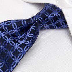 ربطة عنق من البوليستر/الحرير المنسوج بنسبة 100% عالية الجودة للرجال (1209-19)
