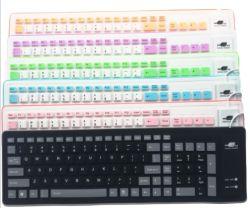 USB103防水およびちり止めのシリコーンキーボードを折る主産業ソフトキーボードのラップトップのゲーム