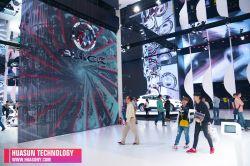 P25 double côté écran LED Effet vidéo pour l'exposition, Trade Show