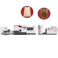 Des Brown-Multiwall seitliche Papierbeutel-Verpackungsmaschine Stützblech-Beutel-Packpapier-Beutel-1kg