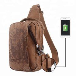 Design Fashion croix de déplacement de l'épaule corps Men's Sling sac fanny Pack