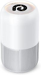 최고의 휴대용 UV 이오나이저 오존 발생기 HEPA 필터 홈 룸 연기 먼지 알러지를 위한 에어클리너 청정기