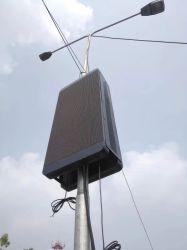 Poste de iluminação Visor LED de exterior Stree na pole para a estrutura de Publicidade
