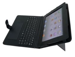 لوحة مفاتيح Bluetooth® لاسلكية مع حقيبة بلاستيكية قابلة للدوران بزاوية 360 درجة (BL-1023)