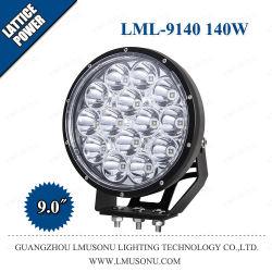 자동용 9.0인치 140W 오프로드 보조 LED 드라이빙 램프 자동차 트럭 보트