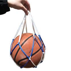 De enige Netto Zak van het Netwerk van het Basketbal van de Toebehoren van de Voetbal van de Carrier van de Bal Nylon voor het Dragen het Voetbal Esg12991 van het Volleyball van het Honkbal