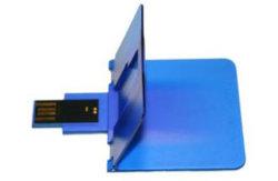 折るクレジットカードUSBのフラッシュ駆動機構、USB 2.0インターフェイス