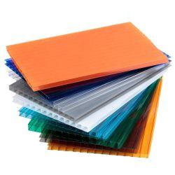 Comitato vuoto del policarbonato colorato Carport della serra di prezzi competitivi e di qualità eccellente 10mm