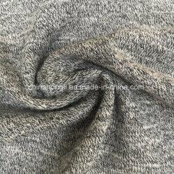 Hacciの綿かポリエステル60/40、260GSMの混合物のセーターのためのフランスのテリー編むファブリック