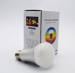 Le WiFi Smart Lampe à LED ampoule lampe réglable WiFi Android Ios du contrôleur E27