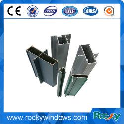 Revestimento a pó da estrutura da janela de alumínio para a janela de correr/perfil de alumínio para Windows