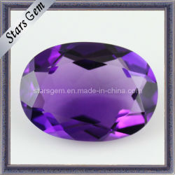 Charmante Ovale Violetkleurige van de Vorm Briljante Natuurlijke Violetkleurige van de Besnoeiing Steen