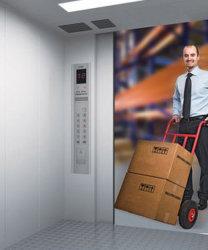 SRH Marke Cargo Lift für Güterverkehr