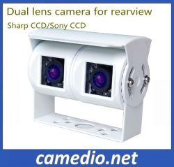 Два объектива камеры заднего вида погрузчика для грузовиков, автобусов прицепа, жилого прицепа