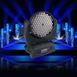 108pcs se déplaçant de lavage à LED 3 W Head Light