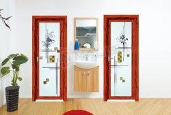 洗面所またはバルコニーのための世帯項目振動タイプアルミニウムドア