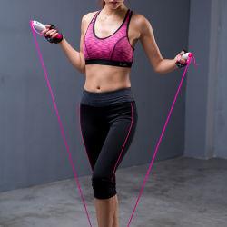 As mulheres Yoga Calças Capris comprimento 3/4 Collants Workout Perneiras Desgaste Activa Sportswear