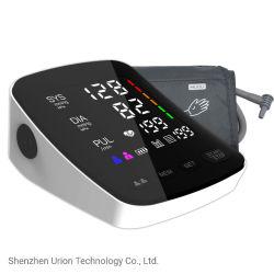 Sphygmomanomètre incurvé LED CE MONITEUR OEM ISO approuvé Bp Bp automatique machine numérique électrique Moniteur de pression sanguine du bras supérieur