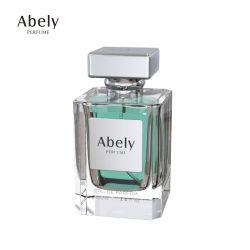 Flacons à parfum Fabricant 50ml 100ml Flacons de parfum de haute qualité en verre avec bouchon de bouteille de parfum zamac
